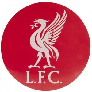 Official LIVERPOOL FC Large Round STICKER 18cm x 18cm LFC