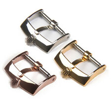 16mm 18mm 20mm New High Quality Stainless Steel Watch band Strap Pin Buckle
