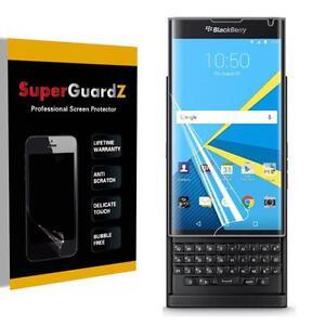 2X SuperGuardZ Clear Full Cover Screen Protector Shield Film For BlackBerry Priv