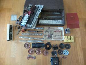 Gilbert Toys Erector Set Wooden Box