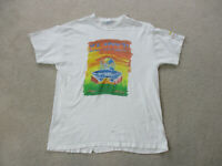 VINTAGE US Open Shirt Adult Extra Large White Orange Tennis 1997 Mens 90s *