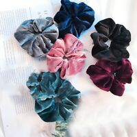 Bronzing Glitter Hair Rope Women Elastic Ponytail Holder Scrunchie Hair Ring