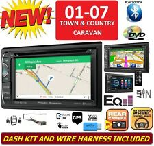 01-07 CARAVAN TOWN & COUNTRY BLUETOOTH GPS NAVIGATION CD DVD Car Radio Stereo