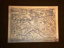 Mappa Austria Theatrum Orbis Terrarum 1724 Abraham Ortelius Ortelio Ristampa