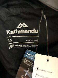 Kathmandu Polartec Mens Black Performance Base Technology Jacket Size 16