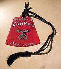 Property of Zuhrah Drum Corps Shaped Like Fez With Tassel - Masonic