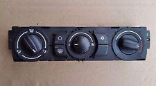 BMW E60 E61 Calentador Panel de control climático