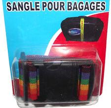 sangle pour bagage valise voyage réglable pour toutes taille de sac 5 cm x 1,8m