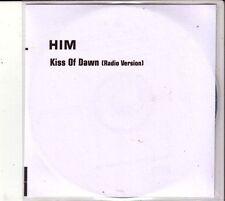 """HIM """"Kiss Of Dawn"""" UK Promo CD"""