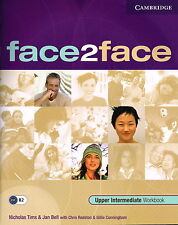 CAMBRIDGE Face2face Upper Intermediate Workbook @NEW BOOK@