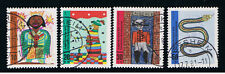 GERMANIA 4 FRANCOBOLLI PRO GIOVENTU 1971 usato