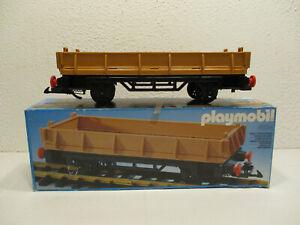 ( SRH ) 4104 Niederbordwaggon OVP Spur G  LGB Eisenbahn Western