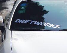 Hella Flush HF JDM Laser Drift Works Sticker Decal For Mazda Honda SUBARU Toyota