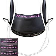 Hyundai Windshield Banner #2 Front Car Decals Stickers Vinyl I