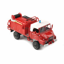 1/43 Scale Red Fire Truck Pompiers Model Diecast Vehicle Hot Toy For Collectible