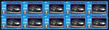 PORSCHE AUTO ICONS STRIP OF 10 VIGNETTE STAMPS, PORSCHE 904