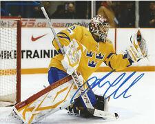 Sweden Jacob Markstrom Signed Autographed 8x10 NHL Photo COA C