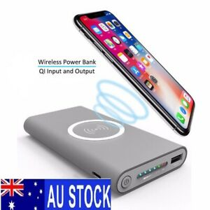 Qi power bank 10000 mAh three-in-one wireless charging mobile power bank