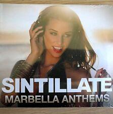 3CD NEW - SINTILLATE - MARBELLA ANTHEMS - Pop Club House Music 3x CD Album