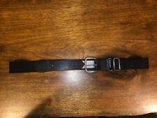 "Nwot Youth Baseball Elastic Web Belt Waist Adjustable 21�-32"" Black"