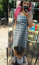 Robe midi de grossesse à carreaux femme ROINSAL taille 36