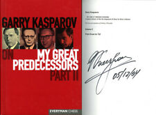 Garry Kasparov SIGNED AUTOGRAPHED My Great Predecessors Part II HC 1st Ed/1st