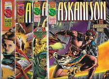 ASKANI'SON #1-#4 SET (NM-) X-MEN SPECIAL EVENT, MARVEL COMICS