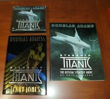 Douglas Adams Starship Titanic PC Game, Strategy Guide & Hardcover by T Jones