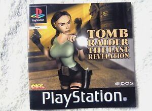 74369 Instruction Booklet - Tomb Raider The Last Revelation - Sony PS1 Playstati
