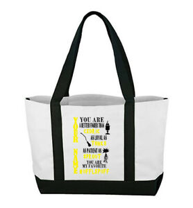 Harry Potter Personalized Canvas Bag You Are My Favorite Hufflepuff Customized