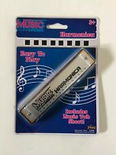 Music Makers Harmonica Silver Imperial Toys Includes Music Tab Sheet New