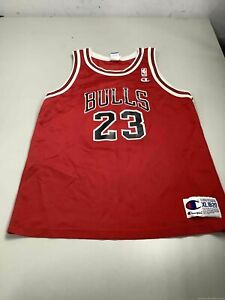 Children's Champion Chicago Bulls #23 Jordan Jersey Size XL