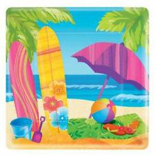 Surf's Up Party Dessert Plates (8)
