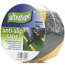 Ultratape Anti-Slip Tape 50mm x 5m Abrasive Grit Self-Adhesive - 2 Colours