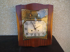 ancien Carillon Art Déco Odo automate Jacquemart horloge pendule dlg westminster