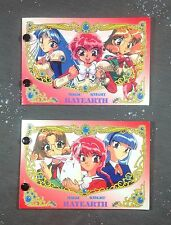 Magic Knight Rayearth PP1 Hero Trading Card Collection Book Lot Anime