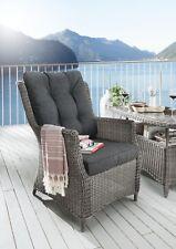 Destiny Gartensessel Loungesessel Casa II Sessel Polyrattan Sofasessel & Polster