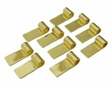 Find-Its - Findings For Fused 10-Piece Tube Top Bails, Gold Plated
