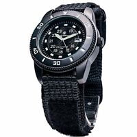 Smith & Wesson Men's Commando Watch with 3ATM/Japanese Movement, Black