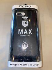 Incipio Max Series Case W/Belt Clip For Apple iPhone 6/6S/7/8 - Black