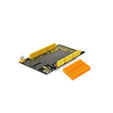 New! Keyestudio MEGA Protoshield V3 for Arduino Compatible+ Breadboard + Video