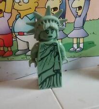 Series 6 lego mini figure LADY LIBERTY statue of