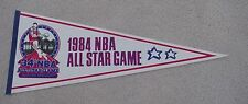 1984 NBA ALL STAR GAME SITE FULL SIZE PENNANT DENVER NUGGETS UNSOLD STOCK SALE