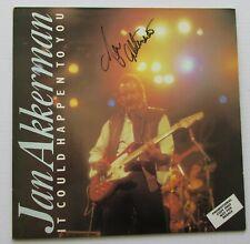 JAN AKKERMAN FOCUS It Could Happen To You 1985 VINYL LP AUTOGRAPHED SLEEVE