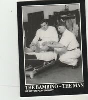 FREE SHIPPING-MINT-1992 Megacards #130 BABE RUTH COLLECTION-THE BAMBINO-THE MAN