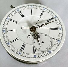SWISS SPLIT SECOND CHRONOGRAPH MOVEMENT 43mm Diameter and 10mm thick; PAT. 1888