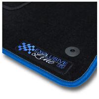 Auto-Fußmatten Exclusive Blue für Mazda 2 DE 2007 - 2011 Automatten Autoteppiche
