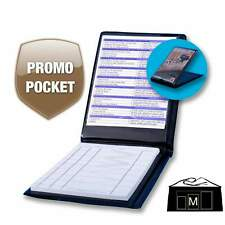 Waiter Wallet LTO | Waitstaff Organizer Book With Promotional Display Pocket