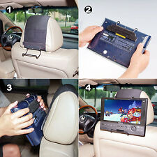 Universal Car Headrest Mount Holder for Portable DVD Players by TFY