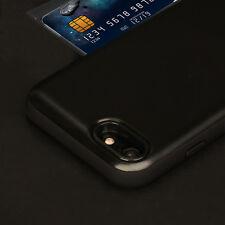 For Man&Husband Case iPhone 6 6S Armor Wallet Shockproof Cover Matte Case-CA